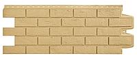Фасадные панели Песочный 1000x400 мм Состаренный кирпич Grand Line
