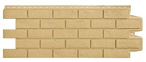 Фасадные панели Песочный 1000x400 мм Состаренный кирпич,серия Стандарт (моноцвет) Grand Line