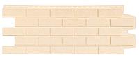 Фасадные панели Бежевый 1000x400 мм Состаренный кирпич Grand Line