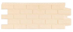 Фасадные панели Бежевый 1000x400 мм Состаренный кирпич,серия Стандарт (моноцвет) Grand Line