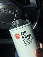 Фильтр масляный Sakura на Audi A3 04>/A4 07>A5 1.8/2.0 07>