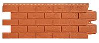 Фасадные панели Терракотовый 1000x400 мм Состаренный кирпич Grand Line
