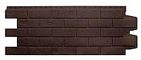 Фасадные панели Коричневый 1000x400 мм Состаренный кирпич Grand Line