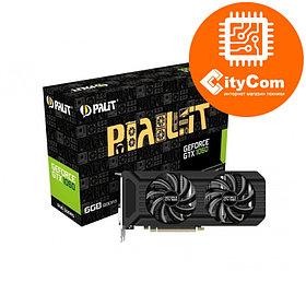 Видеокарта Palit GeForce GTX 1060 Dual 6GB DDR 5, игровая видеокарта.