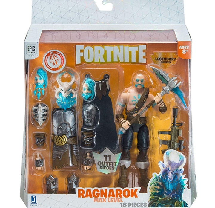 Fortnite Фигурка героя Ragnarok с аксессуарами - фото 1