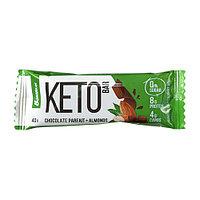 Батончик BombBar - KETO Bar (Шоколадное парфе с миндалем), 40 гр, фото 1