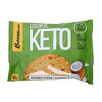 Печенье BombBar - KETO Сookie (Кокос с миндалём), 40 гр