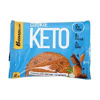 Печенье BombBar - KETO Сookie (Шоколад с миндалём), 40 гр, фото 1