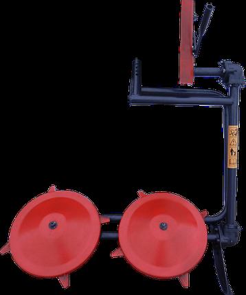 Косилка роторная навесная КРН-1М (2-я лыжа под роторным диском) для МБ Нева, фото 2