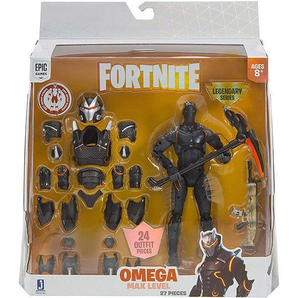 Fortnite FNT0140 Фигурка Omega- Orange с аксессуарами (LS)