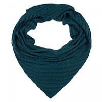 Шарф женский SD370_B97 цвет синий, р-р 60*140