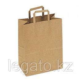 Пакет с кручеными ручками б/п 350*150*450  крафт 150шт/кор