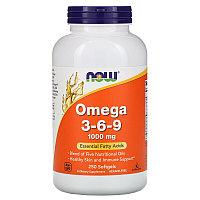 Омега 3-6-9, Now Foods, 250 капсул