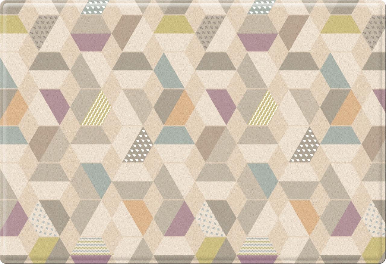 """Детский коврик Pure Soft """"Космос/Зигзаги"""", 190x130x1.2 см"""