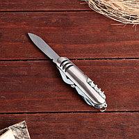 Нож швейцарский 11в1 рукоять с 3 насечками