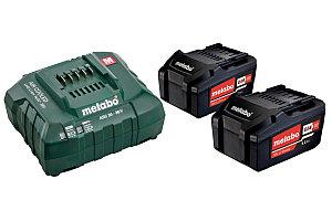 Аккумуляторы и зарядное устройство Metabo 18 В, Basic-Set 5.2 (685051000)