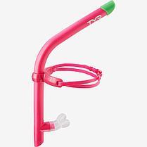 Трубка для плавания TYR Ultralight Snorkel цвет 670 Розовый
