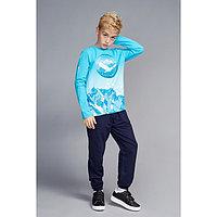Брюки для мальчика, рост 146-152 см (42), цвет т.синий
