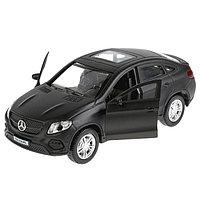 Машина Mercedes-Benz Gle Coupe, 12 см, инерционная, цвет чёрный, металлическая