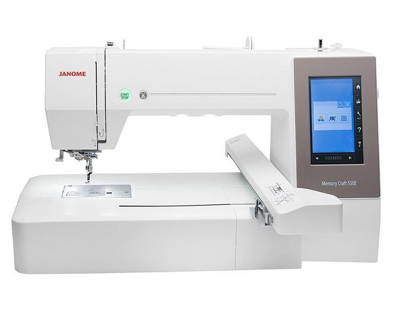 Janome Memory Craft 550E вышивальная машина