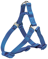 "Шлейка. ""Trixie"" Premium шлейка для собак, S: 40–50 cm/15 mm, royal blue"