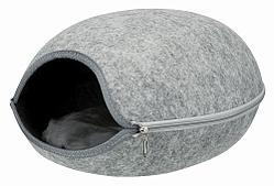 Лежак-пещера Trixie Luna для кошек, фетр - 40 × 24 × 46 cm