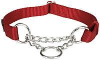 """Ошейник.""""Trixie"""".Premium ошейник-удавка для собак, L–XL: 45–70 cm/25 mm, red"""