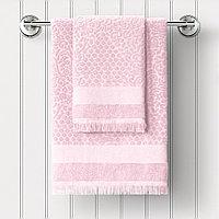 Полотенце махровое Lavender, буше, розовый