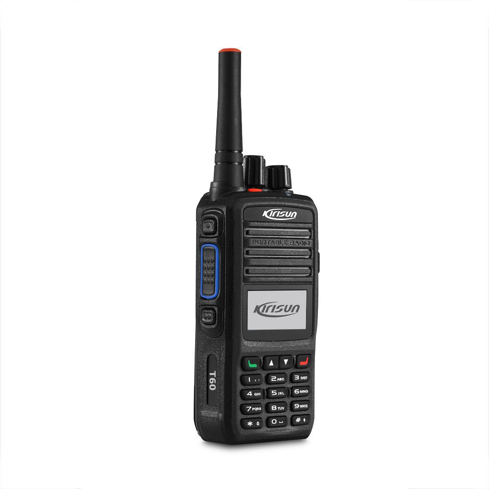 Портативная POC  радиостанция Kirisun T60 (LTE, GSM, 4G, Wi-Fi)