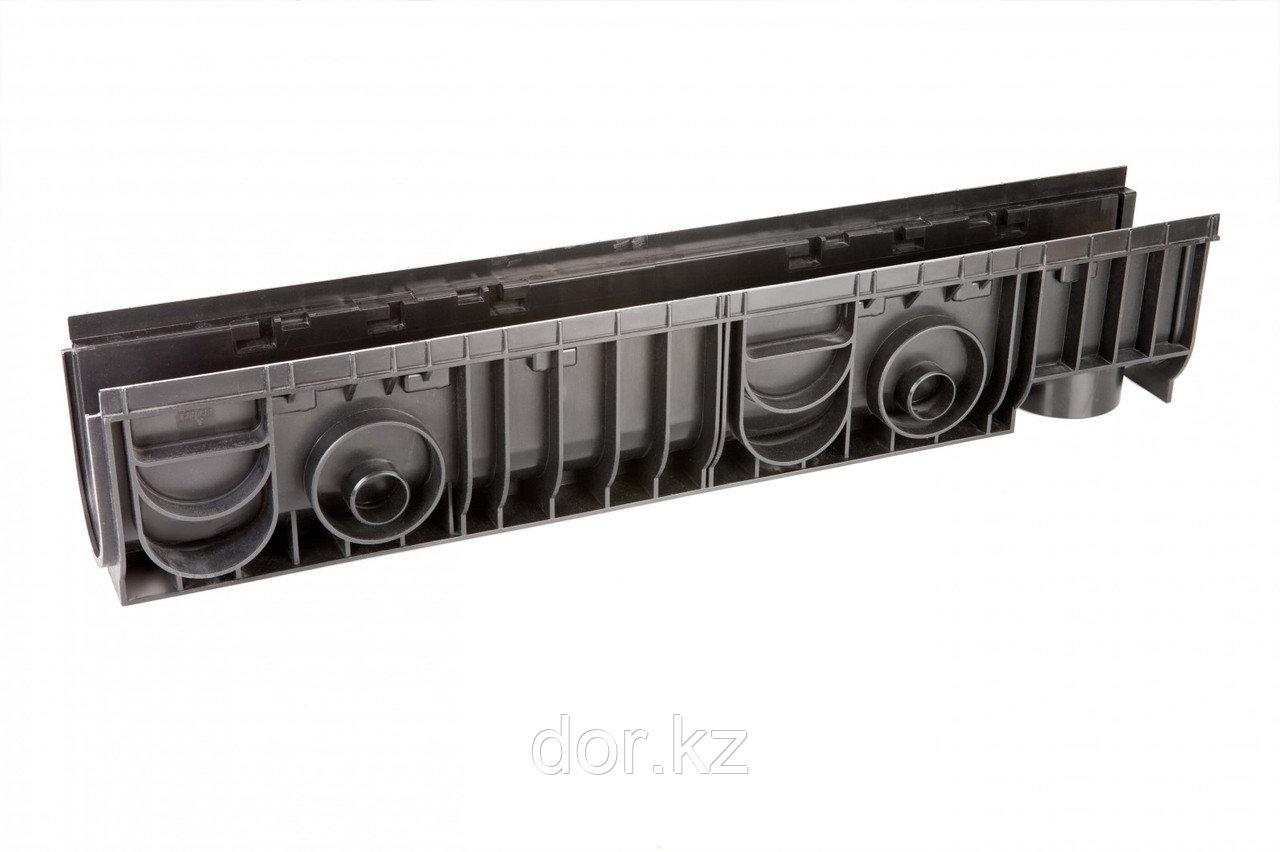Лоток 100.175 h195 пластиковый (черный)