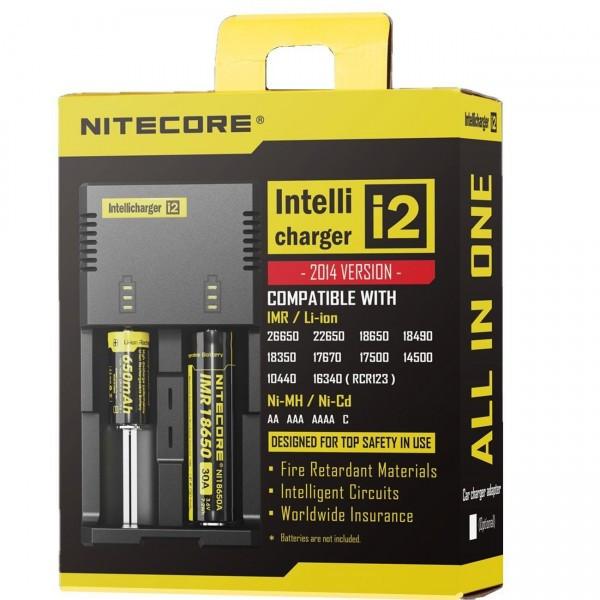 Универсальное зарядное устройство для батареек Nitecore Intellicharger i2 v2014 - фото 5