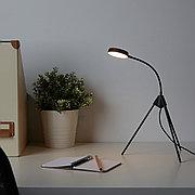 ТРЕТТИОТРЕ Настольная лампа, светодиодная, черный