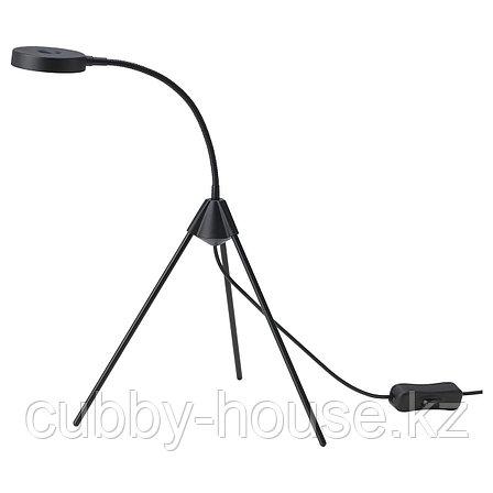ТРЕТТИОТРЕ Настольная лампа, светодиодная, черный, фото 2