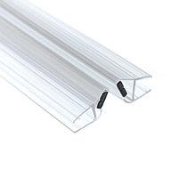 Профиль DG-3 магнитный прозрачный белый. 2200мм. Универсальный 90°, 180°| FGD-105 CL