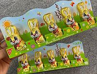 Шоколадные зайчики Hasen-Parade (5 шт)  62.5гр