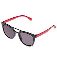 Очки солнцезащитные детские, оправа и дужки дву x цветные, МИКС, стёкла тёмные, 13.5 x 13.5 см