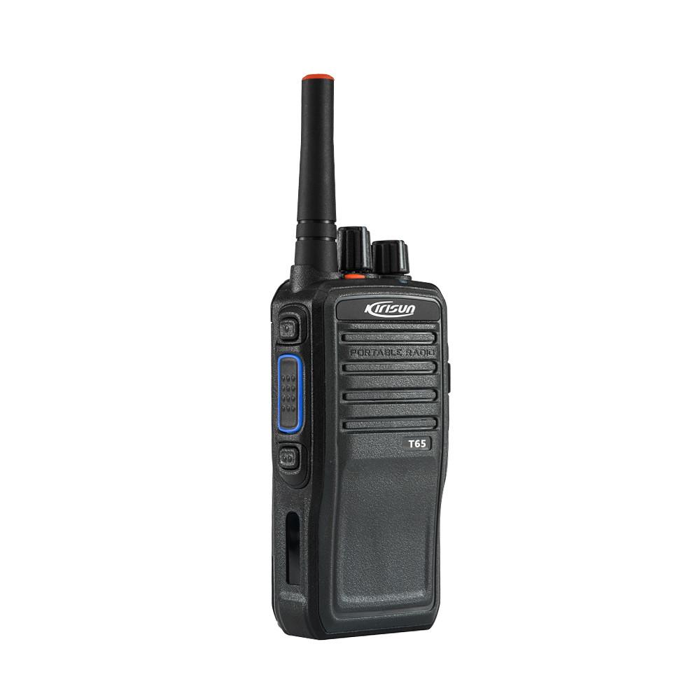 Портативная POC  радиостанция Kirisun T65 (LTE, GSM, 4G, Wi-Fi)