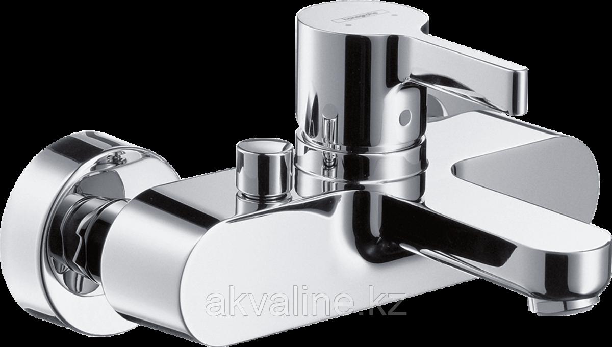 Metris S  Смеситель для ванны, однорычажный, внешнего монтажа