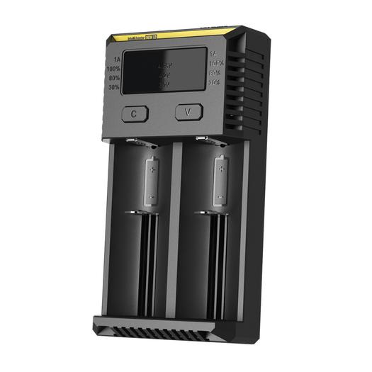 Универсальное зарядное устройство для батареек Nitecore Intellicharger NEW i2 - фото 2