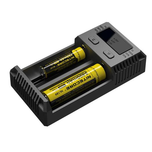 Универсальное зарядное устройство для батареек Nitecore Intellicharger NEW i2 - фото 4