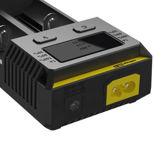 Универсальное зарядное устройство для батареек Nitecore Intellicharger NEW i2 - фото 5
