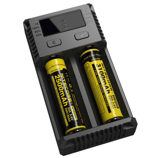 Универсальное зарядное устройство для батареек Nitecore Intellicharger NEW i2 - фото 6