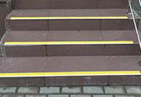 Алюминиевая накладная полоса с вставкой