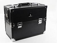 Кейс FY 2680 K (ср) для визажиста (черный), Gladking №11929(2)