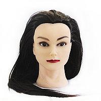 Болванка учебная для парикмахера искусствен. (каштан) №79752(2)