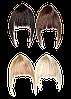 Челка из искусственных волос на заколке №20381