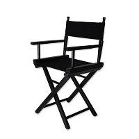 Кресло для визажиста маленькое A 8601 (черное) №13374