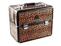 Кейс DY 2651 K (б) для визажиста (леопард) AISULU №11714(2)