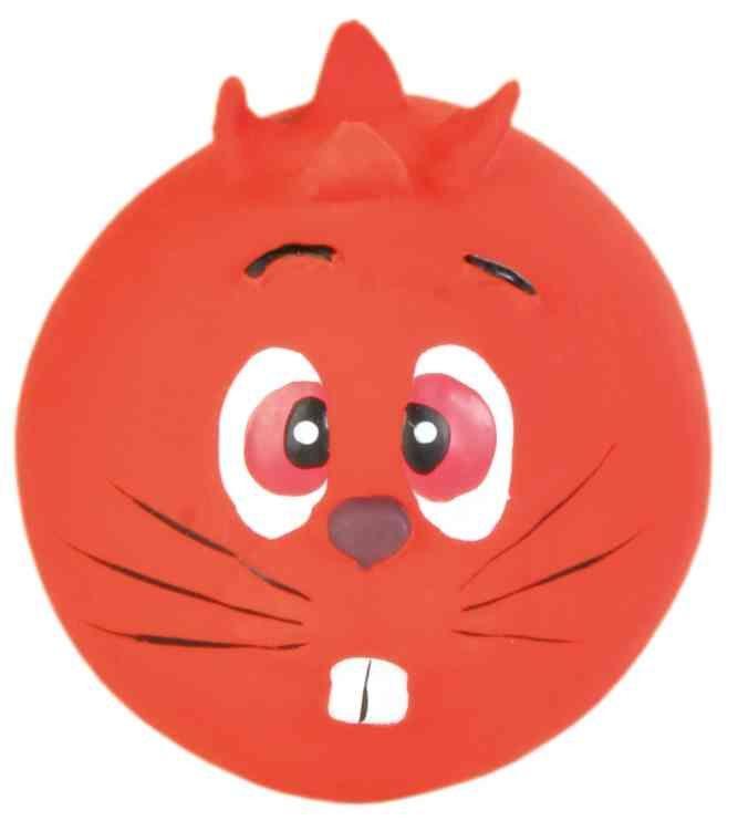 Игрушка Trixie для собак, мячик с пищалкой - ø 6 cm