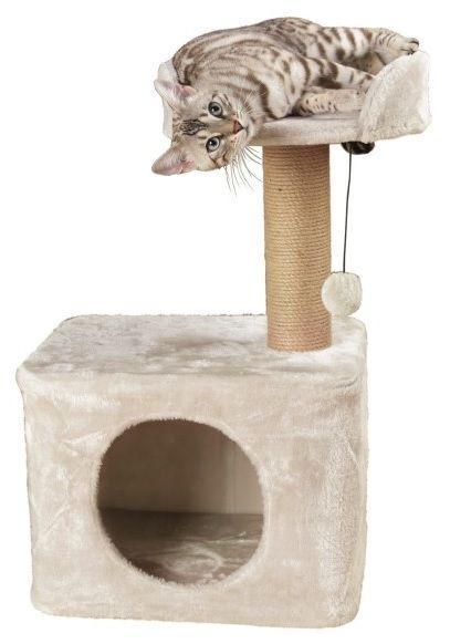 Когтеточка Trixie Romy  когтеточка и место для сна, 72 cm, light grey